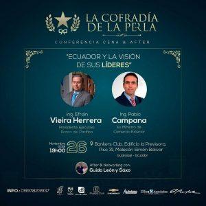 Conferencia Ecuador y la visión de sus líderes