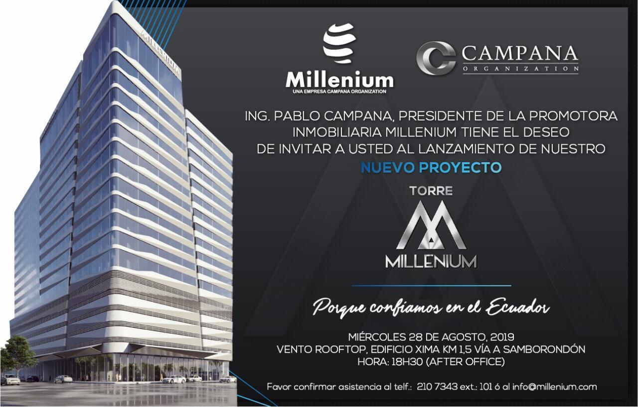 "Lanzamiento proyecto ""Torre Millenium"""